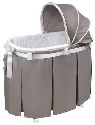 badger basket co wishes oval bassinet