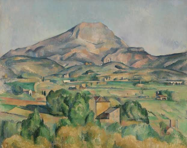 Image result for paul cezanne Montagne Sainte-Victoire""