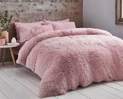catherine lansfield cuddly fleece pink