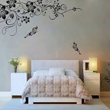 Amazon Com Yomxl Romantic Flowers Vine Wall Corner Decals Tv Background Wall Stickers Murals Art Decal Wallpaper Wall Home Decorations Home Kitchen