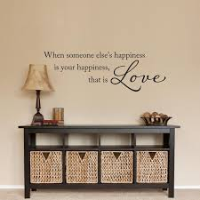 love quote wall decal when someone else s happiness is