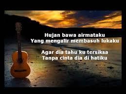 ombak rindu minus one acoustic by ajek hassan