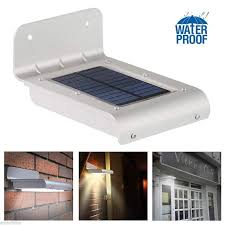 solar powered lights outdoor step