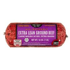 96 lean 4 fat ground beef roll 1 lb