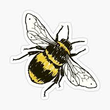 Bee Stickers Redbubble