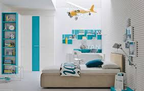 Only Furniture Stylish Kids Blue White Bedroom A Red White Blue Boys Room Shared Boys Rooms Kids Kids Bedroom Blue White Stylish Home Furniture