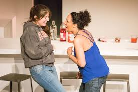 "Kayla Jackmon, Meredith Owens, Kara Ayn Napolitano, and Rosie Kolbo of  ""Rubbermatch"" | Go See a Show!"