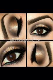 cute eye makeup brown eyes saubhaya