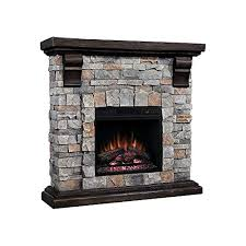electric stone fireplace com