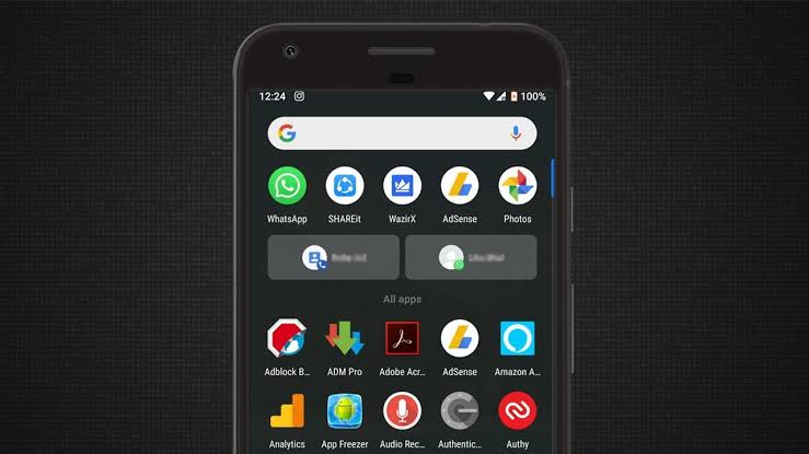 Image result for android dark mode""