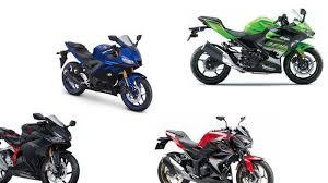 daftar harga motor sports 250 cc dua