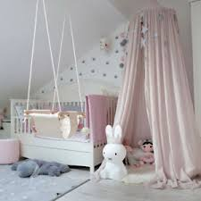 Mosquito Net Canopy Dome Princess Bed Cotton Tent Baby Kids Room Moon Decor Ebay