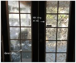 diy faux stained glass front door blog