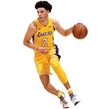 Los Angeles Lakers Lonzo Ball Fathead Life Size Removable Wall Decal