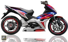 modifikasi honda blade 2017 otofreak