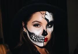 creepy skeleton makeup ideas to scare