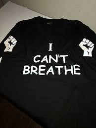 I Can T Breathe And Black Fist Iron On Decals For T Shirt And Hoodies Clothes Ebay