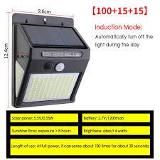 led solar light flood light outdoor