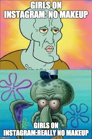 squidward meme flip
