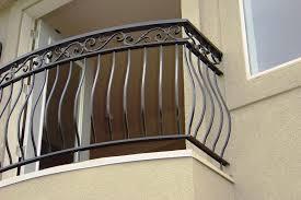Wrought Iron Balcony Railings Designs Decorative Outdoor Home Elements And Style Railing Exterior Juliet Crismatec Com