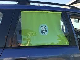 Panda Bear Car Window Sun Shade Etsy