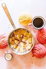 recipe homemade concha coffee creamer
