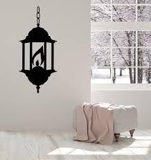 Vinyl Wall Decal Lantern Street Lamp Lighting Room Decoration Stickers Wallstickers4you
