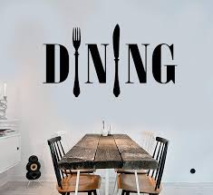 Vinyl Wall Decal Dining Room Kitchen Chef Cook Cutlery Stickers Unique Wallstickers4you