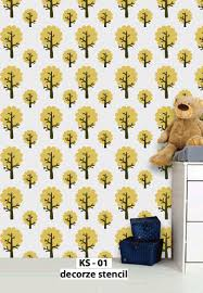 Kids Room Stencils Kids Room Wall Stencils Are Easy Way To Decor Your Wall Ks Manufacturer From Bengaluru