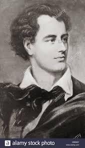 George Gordon Byron, 6th Baron Byron, 1788 – 1824, aka Lord Byron. English  nobleman, poet, peer, politician,