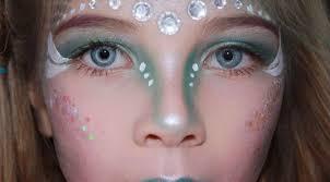 mermaid makeup for kids tutorial