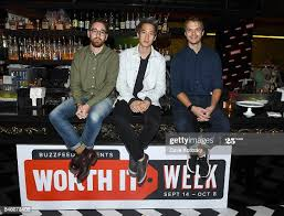 """Worth It"""" cast members Adam Bianchi, Steven Lim , and Andrew... News Photo  - Getty Images"""