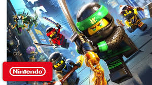 LEGO Ninjago Movie Video Game Launch Trailer - Nintendo Switch in ...