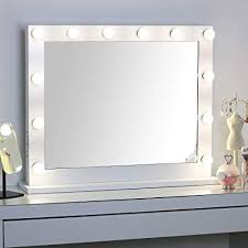 missmii hollywood lighted vanity mirror