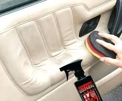 what to use to clean leather car seats