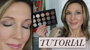 silver gray eyeshadow tutorial mac