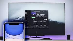 tu iphone o ipad a una smart tv