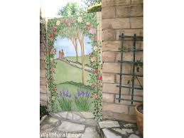 outside wall murals outdoor mural