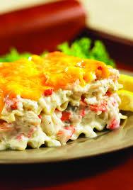 Best Seafood Lasagna