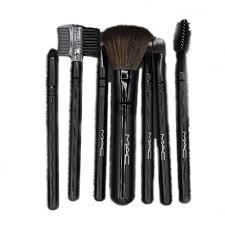 m a c makeup brushes set 7 pieces