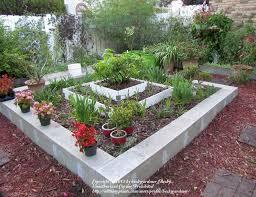 diy flower beds cinder block raised