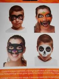 face art makeup paint stencil kit