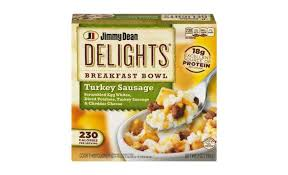 delights turkey sausage breakfast bowl