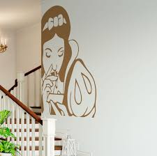 Vintage Art Spoof Pin Up Snow White Wall Decal
