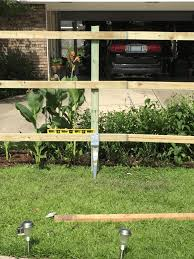 How To Build A Straight Fence Using Post Anchors Ozco Building Products