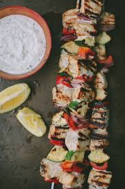 Grilled Swordfish Kabobs with Garlic ...
