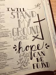 bible journaling ideas o lord lauren daigle bible doodling