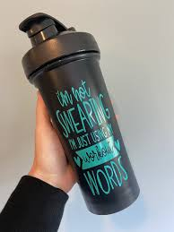 I M Not Swearing These Are My Workout Words 28 Oz Shaker Cup This Life Made Easy