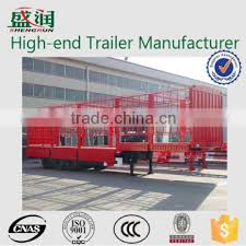 Shandong Shengrun Hot Selling Gargo Transport Semi Trailer Fence Trailer And Box Trailer Side Wall