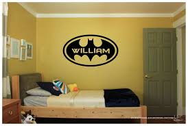 Large Personalized Batman Logo With Name Vinyl Wall Sticker Decal 38 X22 Colors Unbranded Vinyl Wall Stickers Home Decor Wall